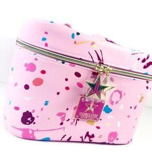 Jeffree Star Jawbreaker Pink Cosmetic Bag